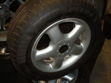 Billede af Audi komplet hjulsæt