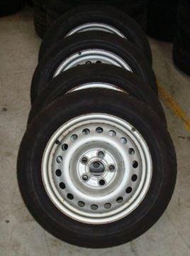 Billede af VW, Seat, Ford komplet hjulsæt