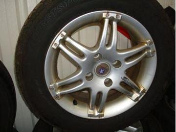 Billede af Peugeot komplet hjulsæt