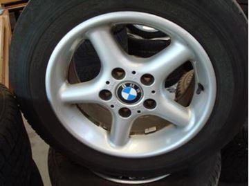 Billede af BMW E39 komplet hjulsæt