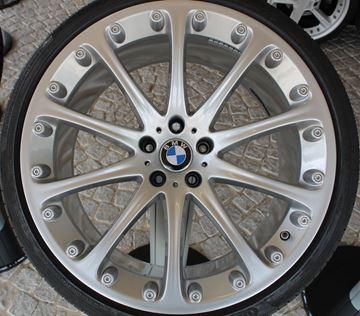 Billede af BMW hjulsæt med Hartge fælge