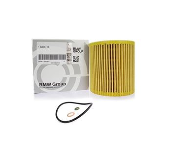 bmw, oliefilter indsats, oilfilter insert