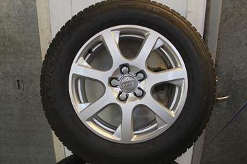 Billede af AUDI hjulsæt m vinterdæk
